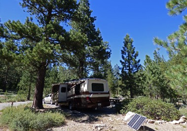 Camping at Granite Flat N.F. Campground