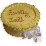 54. kép: Ünnepi torták - Szalagos torta