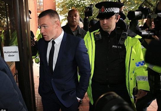 Wayne Rooney Banned From Driving For 2 Years And Given 100hrs Community Service