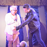 WWW.ENTSIMAGES.COM -    Leslie Jordan and Jake Canuso Host   at      West End Bares 2014 - Nude Dunnit at Cafe de Paris, London September 7th 2014Annual dance/burlesque fundraising show hosted by TheatreMAD in aid of The Make A Difference Trust.  Photo Mobis Photos/OIC 0203 174 1069