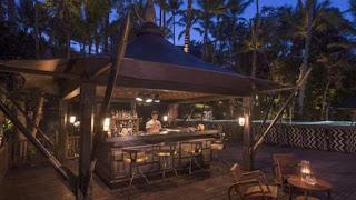 Restoran terbuka di Capella Ubud