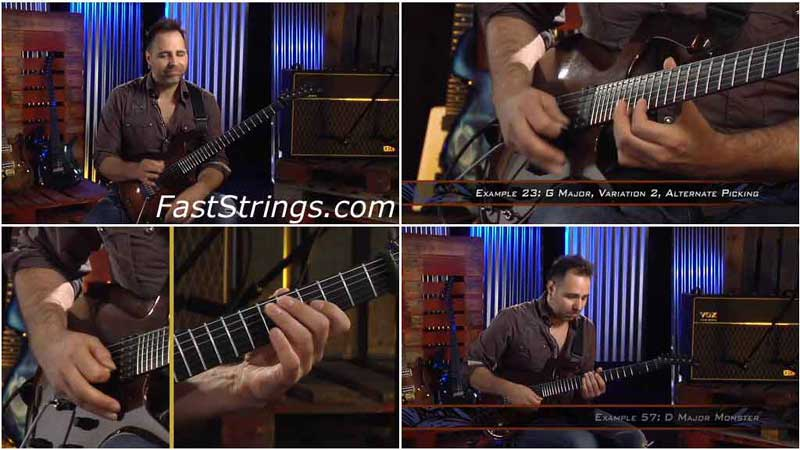 Dave Martone - Shredding The Blues