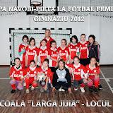 Cupa Navobi-Pieta, fotbal feminin, Gimnaziu 2012