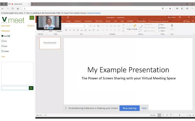 Vmeet Screensharing Extension