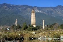Monastère de Chongshen : les Trois Pagodes