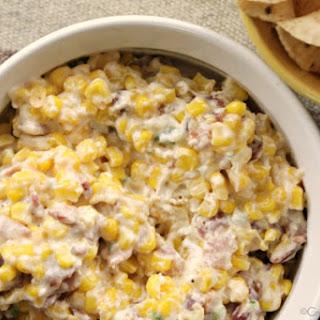 Crock-Pot Corn, Bacon & Jalapeño Popper Dip.