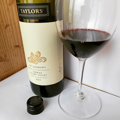 "2013 Taylor's ""St. Andrews""  Single Vineyard Release Shiraz Clare Valley  by ©LeDomduVin 2020"