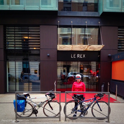 Cycling to Tarbes and Le RexHotel