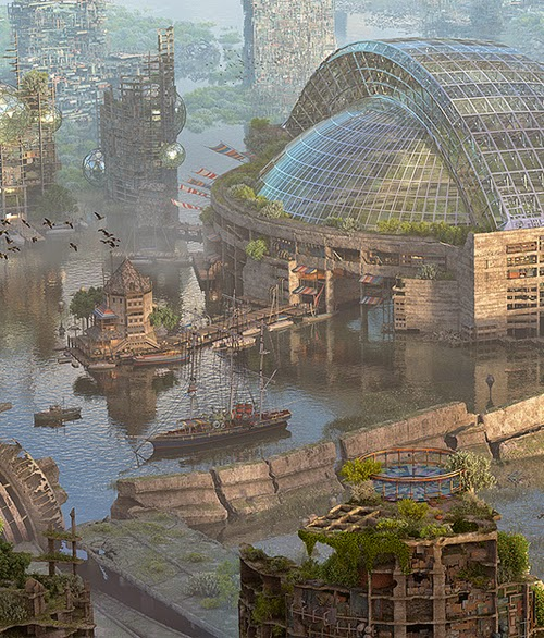 Future Toronto by Mathew Borrett