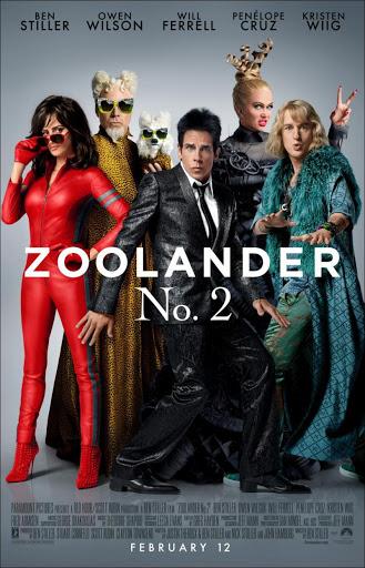 Zoolander Νο. 2 Poster