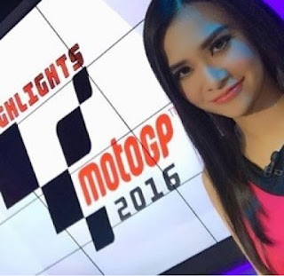 kumpulan foto maria vania host / presenter moto gp 2016