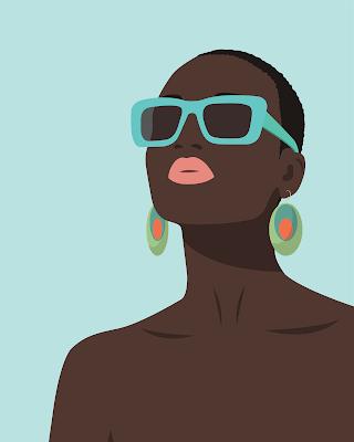 black woman with cut hair-Igboafricana