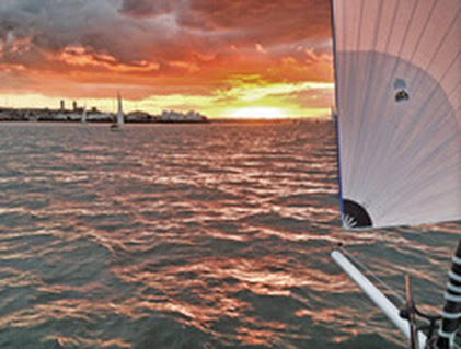 J/111 DJANGO sailing Auckland, New Zealand