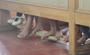 Photo: Indonezijos vaikai bažnyčioje.  Indonesian kids in the church.