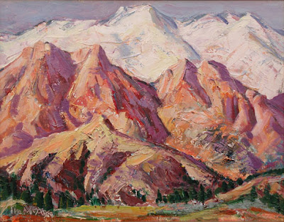 """Snowcap Mountains"""