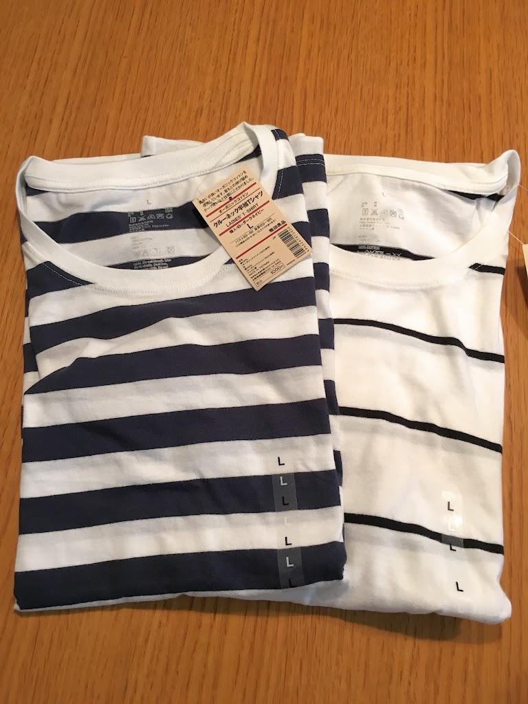 Tシャツはこちらの2枚 (1枚890円)