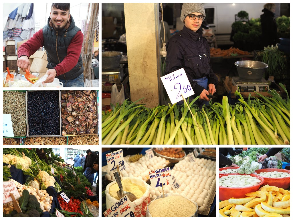 besiktas farmers market