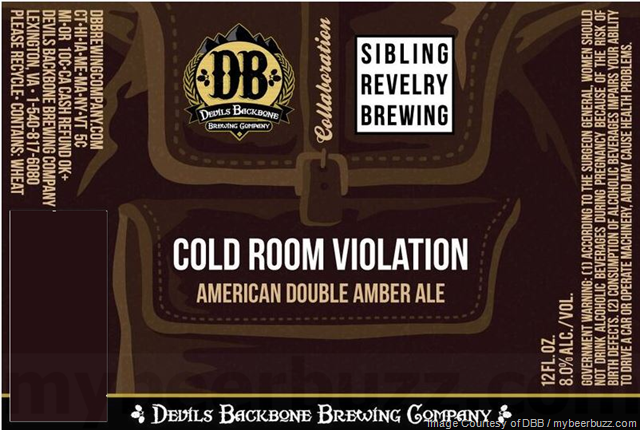 Devils Backbone & Cisco Brewers Collaborate On Whale Pants / Sibling Rivalry On Cold Room Violation / Mindful On Drop Bear Dust Up / Chuckanut on Dunkel / Wynwood On India Black Lager