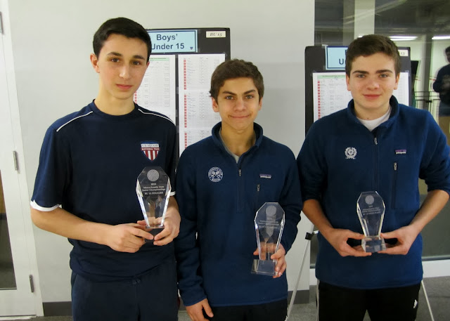 BU 15: Finalist - David Rubin (Brookline, MA); Champion - Deven Kanwal (Boston, MA); 3rd Place - Nicholas Cummings (Weston, MA)
