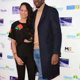 WWW.ENTSIMAGES.COM -     Estelle Lavaud and Jermain Jackman    at         Nightrider 2015 - VIP launch party at Grange St Paul's Hotel, London November 4th 2014Charity bike ride launches its 2015 challenge. Main event takes place in June 2015                                               Photo Mobis Photos/OIC 0203 174 1069
