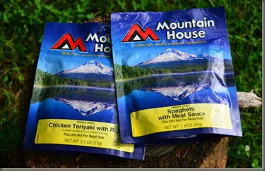 mountain house backpacking food