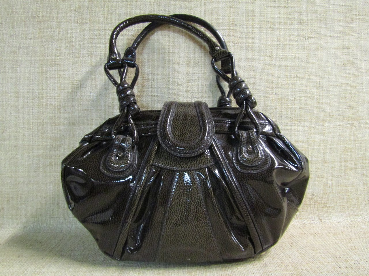 LoefFer Randall Patent Shoulder Bag