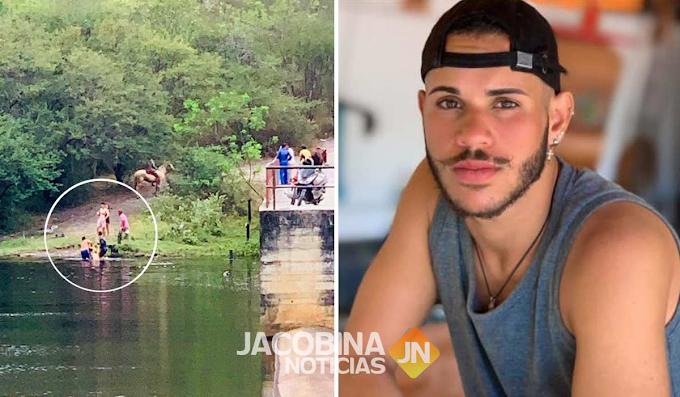 Jacobina: Jovem morre afogado na barragem de Cachoeira Grande