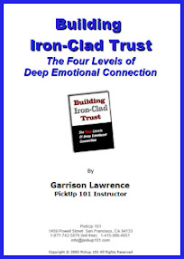 Cover of Garrison Lawrence's Book Building Iron Clad Trust The Four Levels Of Deep Emotional Connection