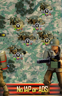 Frontline: Western Front - WW2 Strategy War Game Screenshot