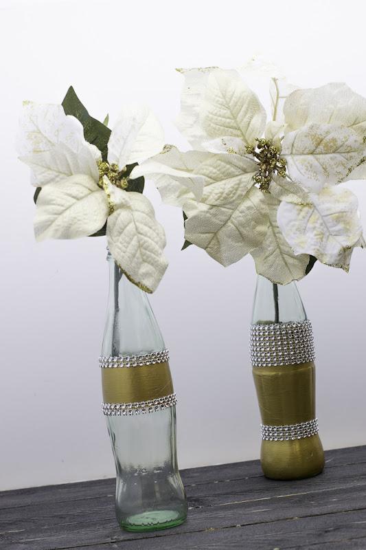 decorate coke bottles for Christmas