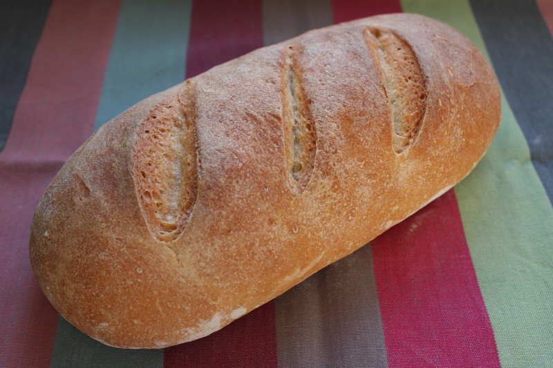 Pan blanco con levadura