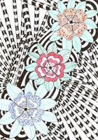 547 Zentangle Three Flowers