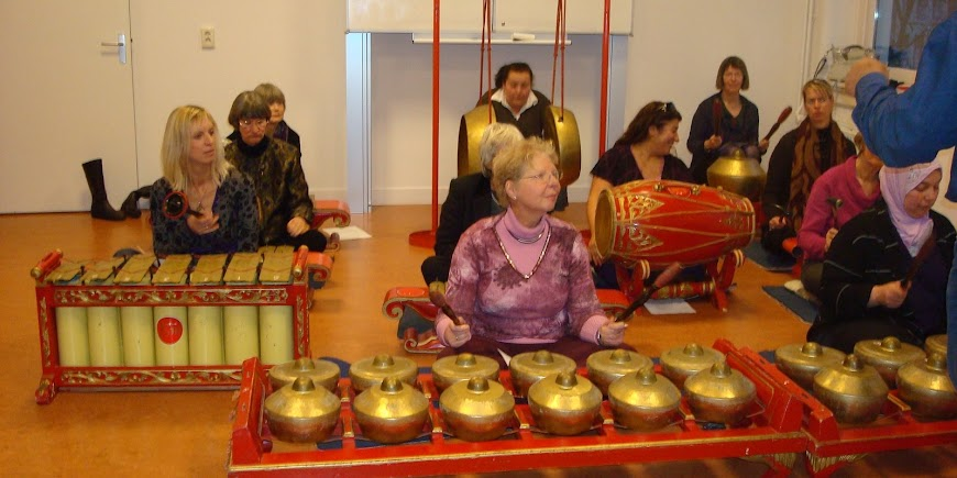Dames gamelan workshop