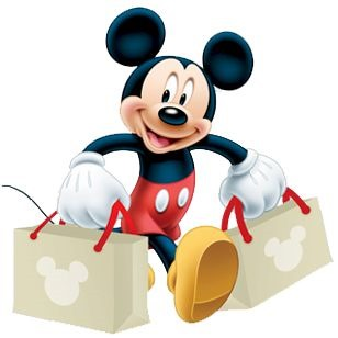 shopping mickey