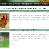 """19. Les articles classés dans """"Protection"""""""