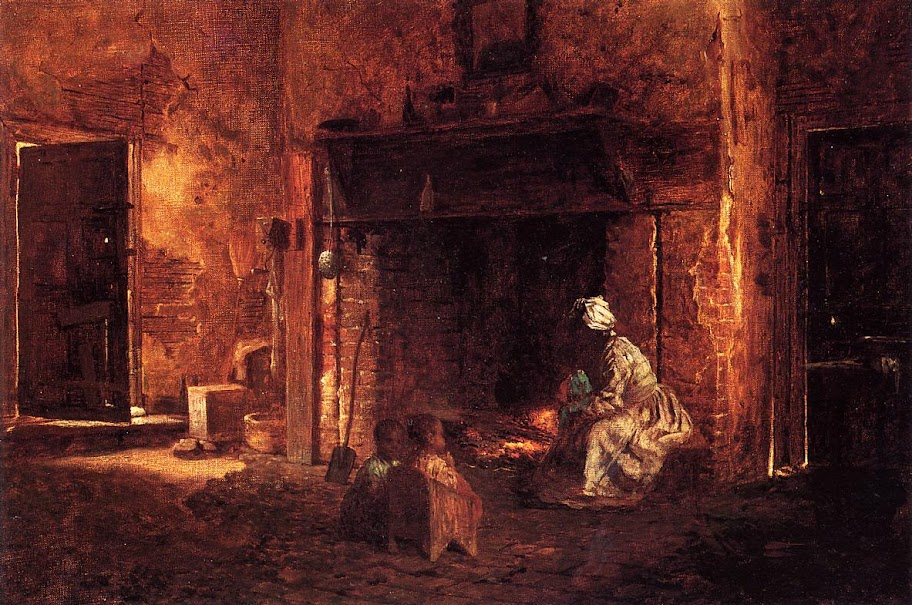 Eastman Johnson - Kitchen at Mount Vernon