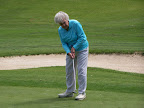 June Rains who was celebrating her 90th birthday at the Metroport Meals on Wheels Golf Tournament