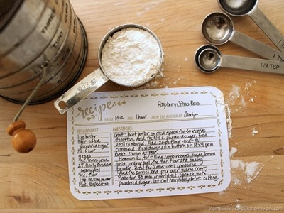 Lifestyle Crafts Embossed Recipe Cards - homework (7)[3]