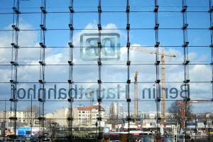 Window of Berlin Train Station