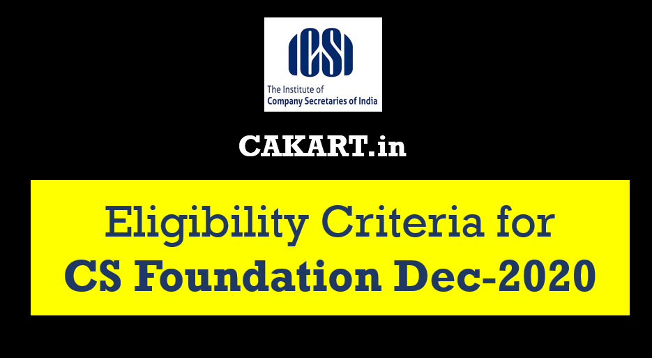 cs foundation eligibility