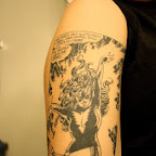 arm black and white - tattoos for men
