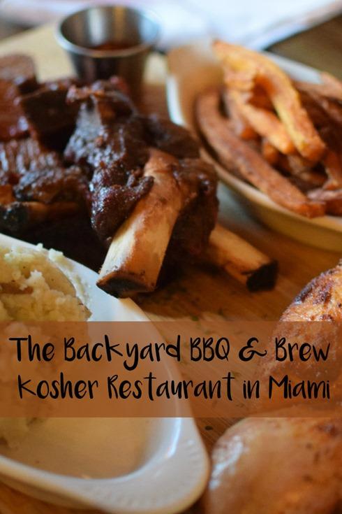 The Backyard BBQ & Brew Kosher Restaurant in Miami