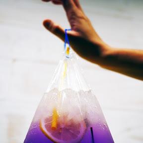 【美麗グルメ】あまりにも美しすぎるノスタルジィ金魚ドリンク / Chabadiで飲むタイ式ドリンク