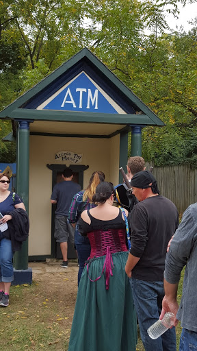 ATM (access thy money) at the Ohio Renaissance Festival