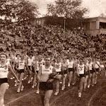 sl_850_007_На фото парад на честь відкриття Спартакіади в Києві. Повз трибуни проходить колона спортсменів Львівщини 1956.jpg