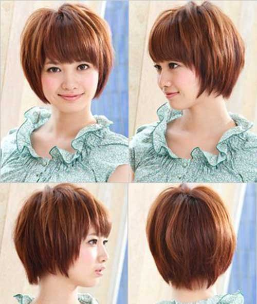 Korean Hairstyles for Round Faces