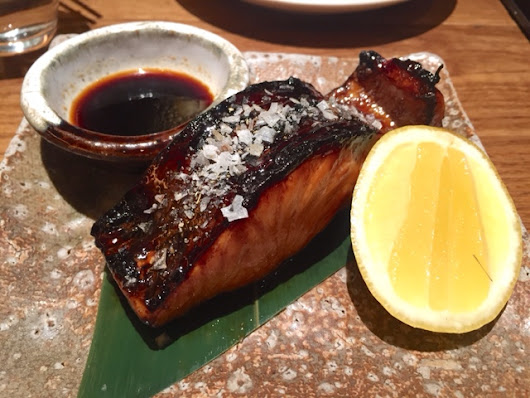 Weekend brunch at Canary Wharf's Roka
