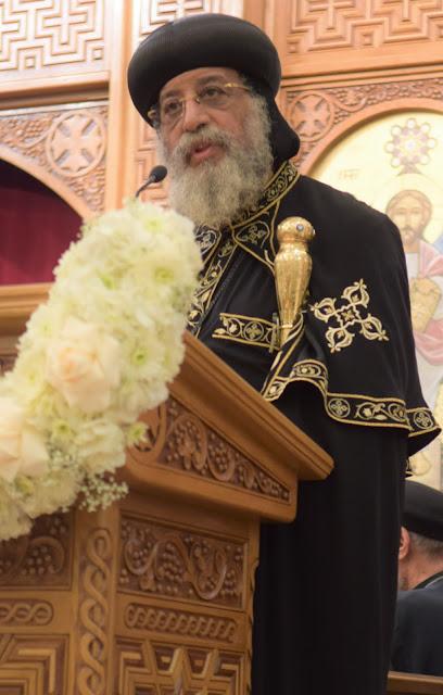 His Holiness Pope Tawadros II visit to St. Mark LA - DSC_0278.JPG