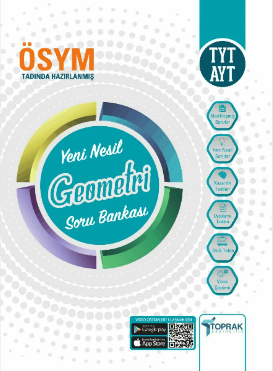 Toprak Yayıncılık TYT-AYT Yeni Nesil Geometri Soru Bankası