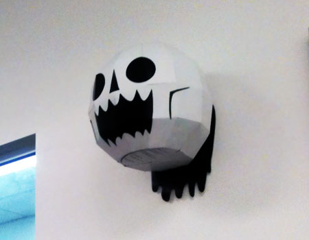 The Skull of Regret Papercraft